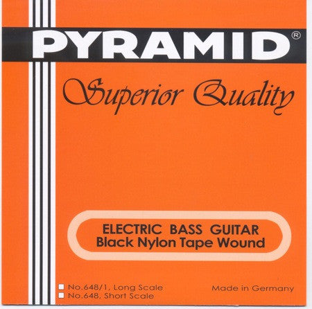 PYRAMID BLACK TAPE NYLON LOW B STRING