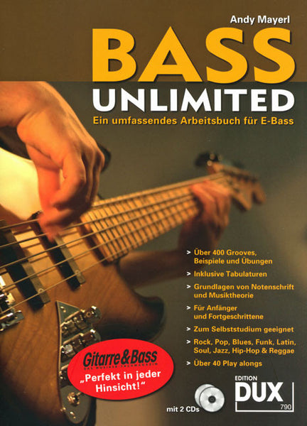 BASS UNLIMITED! Bass-Buch mit CD