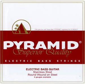 Pyramid - Mr. Bassman´s Favourite Fivestring Set! Long Scale: .045 .065 .085 .105 .126
