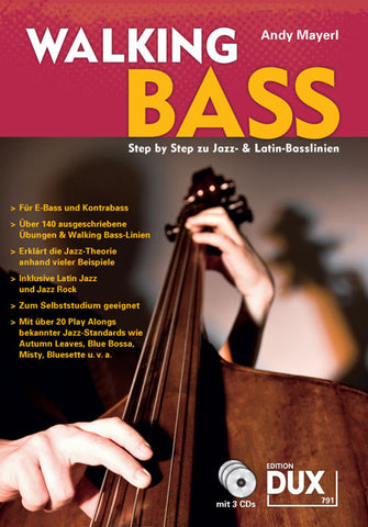 WALKING BASS Bass-Buch mit CD