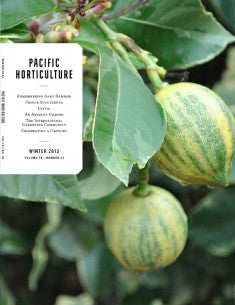 Pacific Horticulture Cover