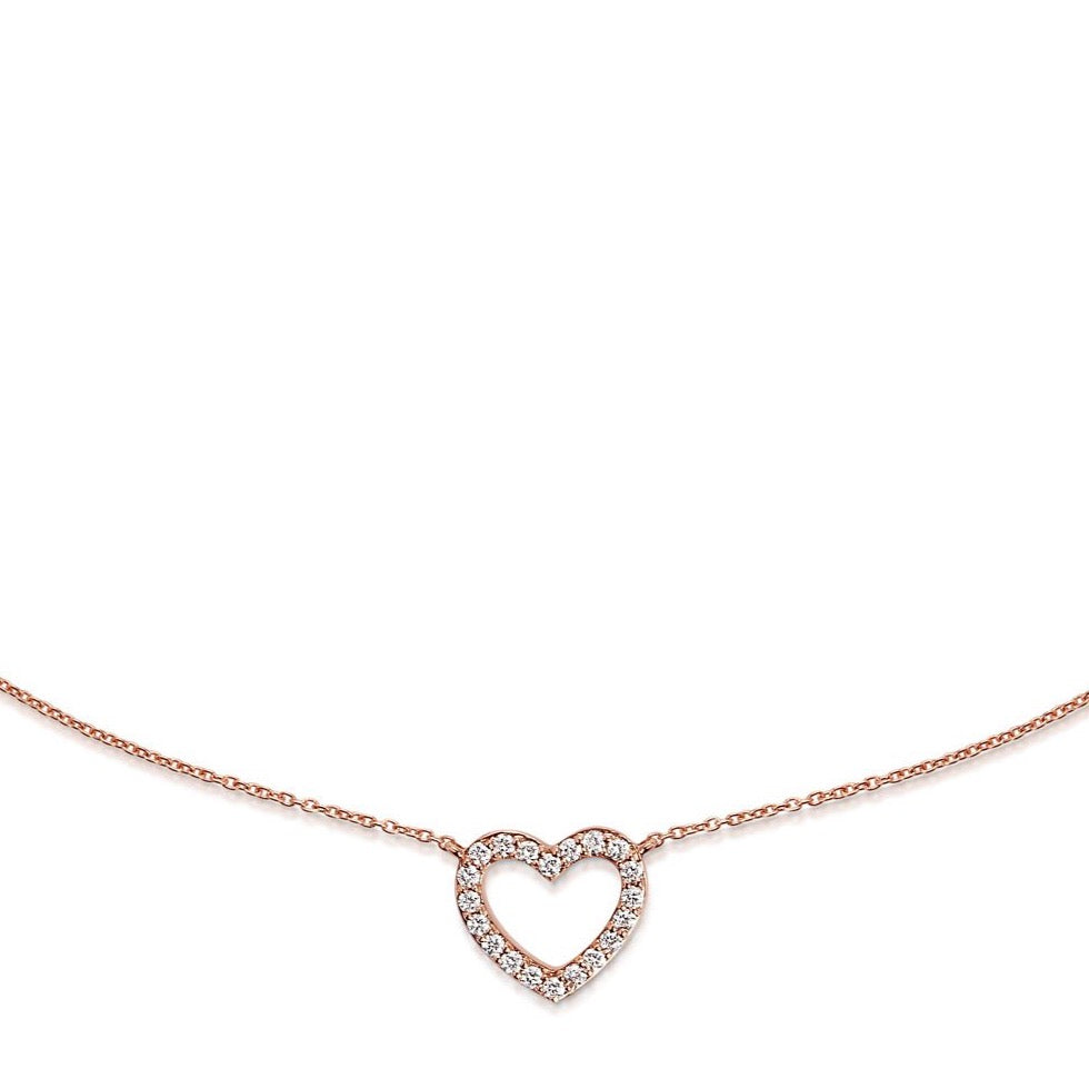 I HEART YOU necklace