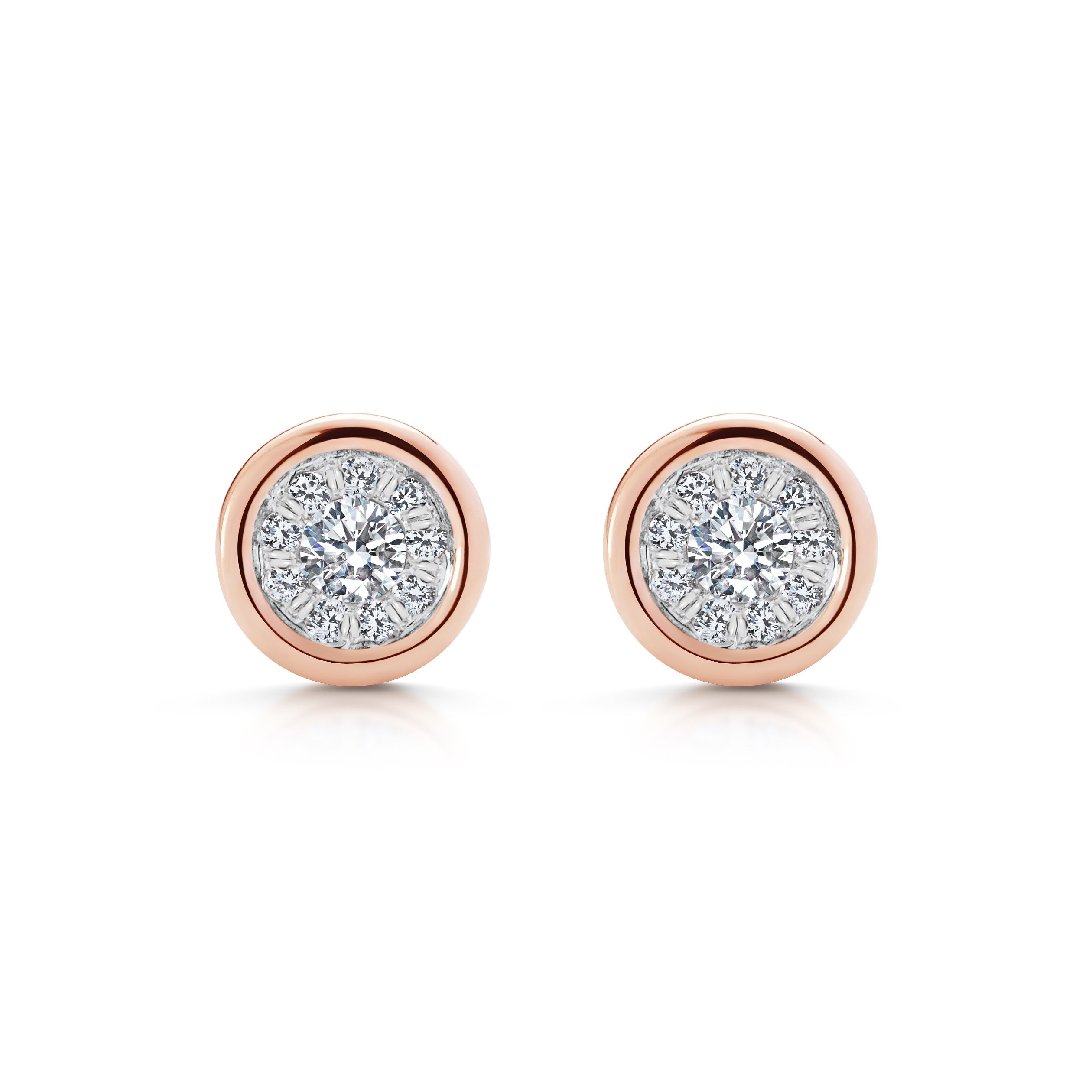 BEZEL illusion studs