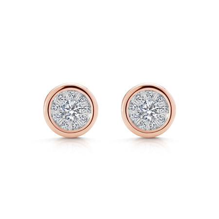 CHELSEA mini diamond earrings