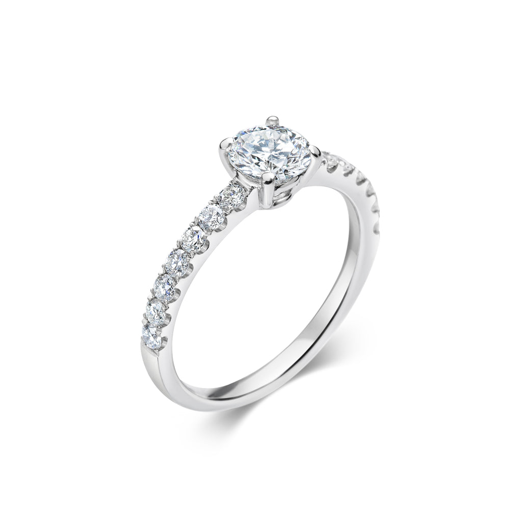 COLETTE classic side stone ring