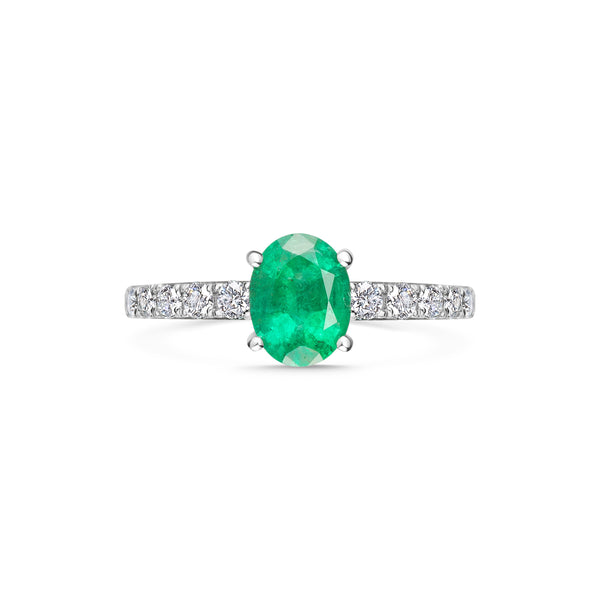 DIANE green emerald