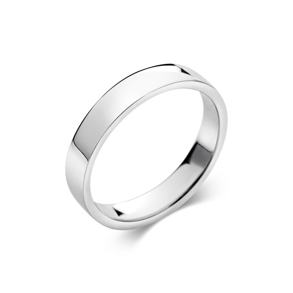 FLO mens' wedding band