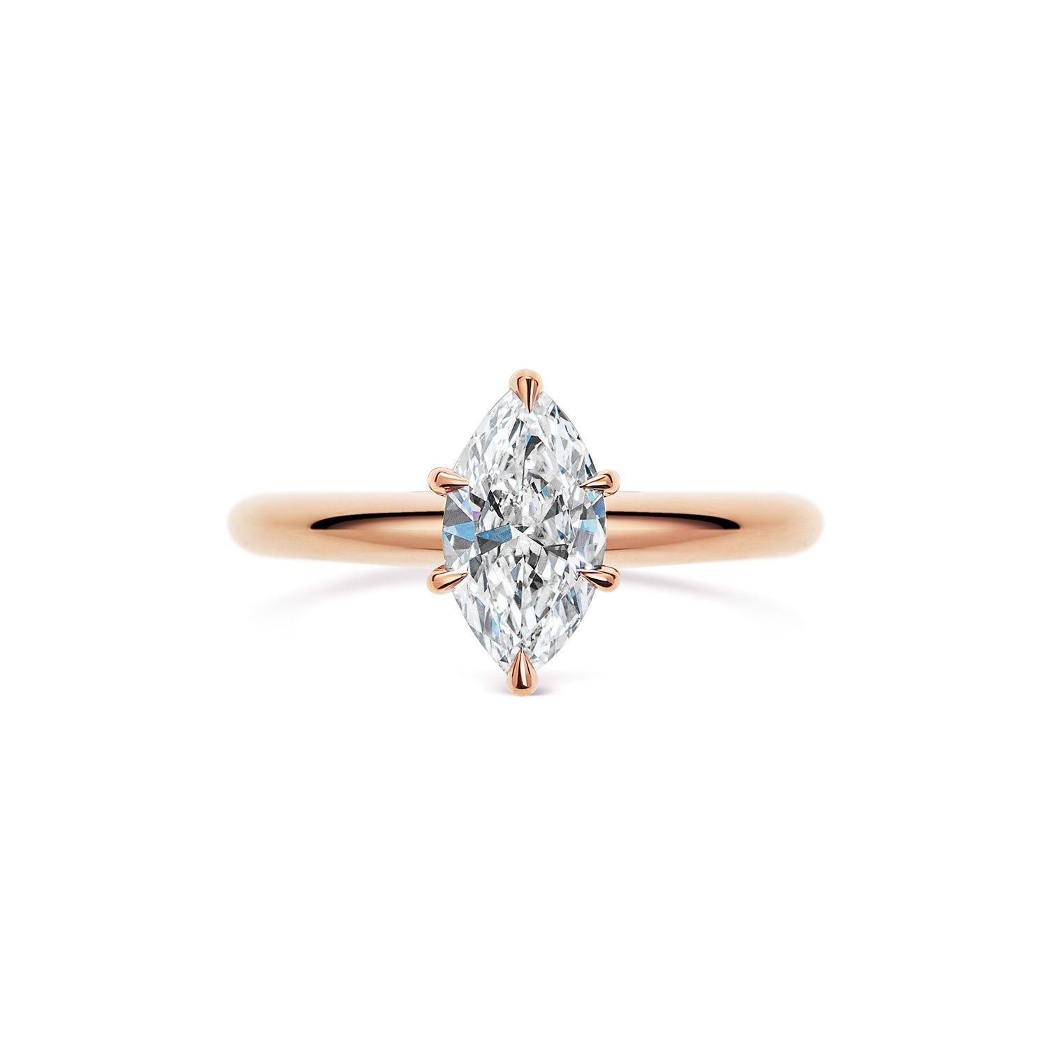 KEIRA marquise cut rose gold