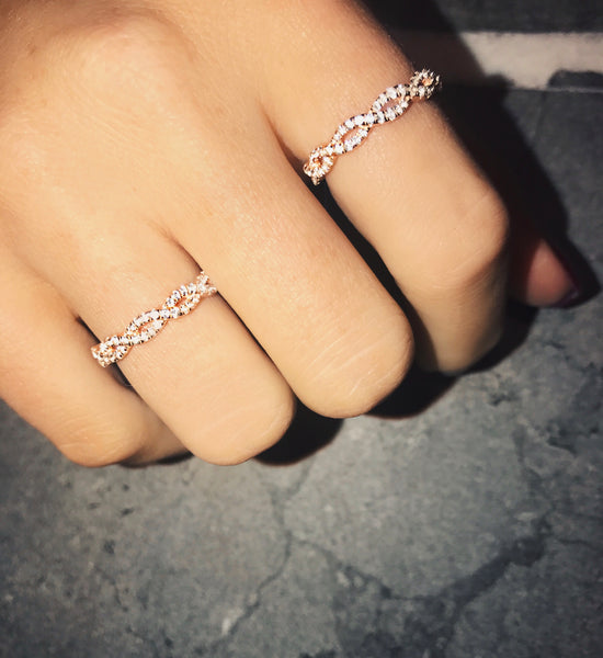 PAZ RING - ROSÉ EDITION