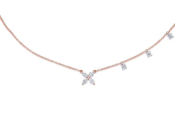 STELLA diamond necklace