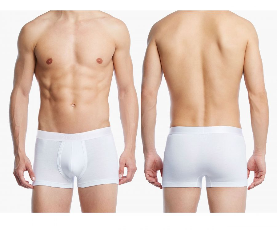 2(X)IST 3104102301 Pima Cotton Trunk Color 101NL-White