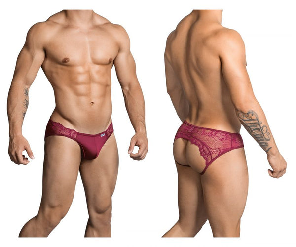CandyMan 99312 Jockstrap Color Burgundy