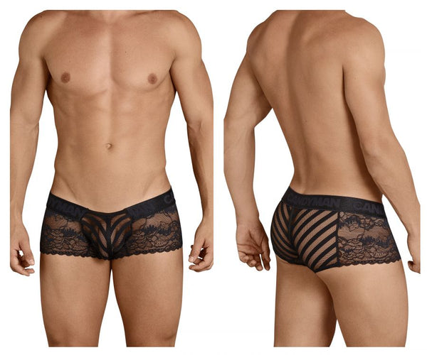 CandyMan 99393 Boxer Briefs Color Black