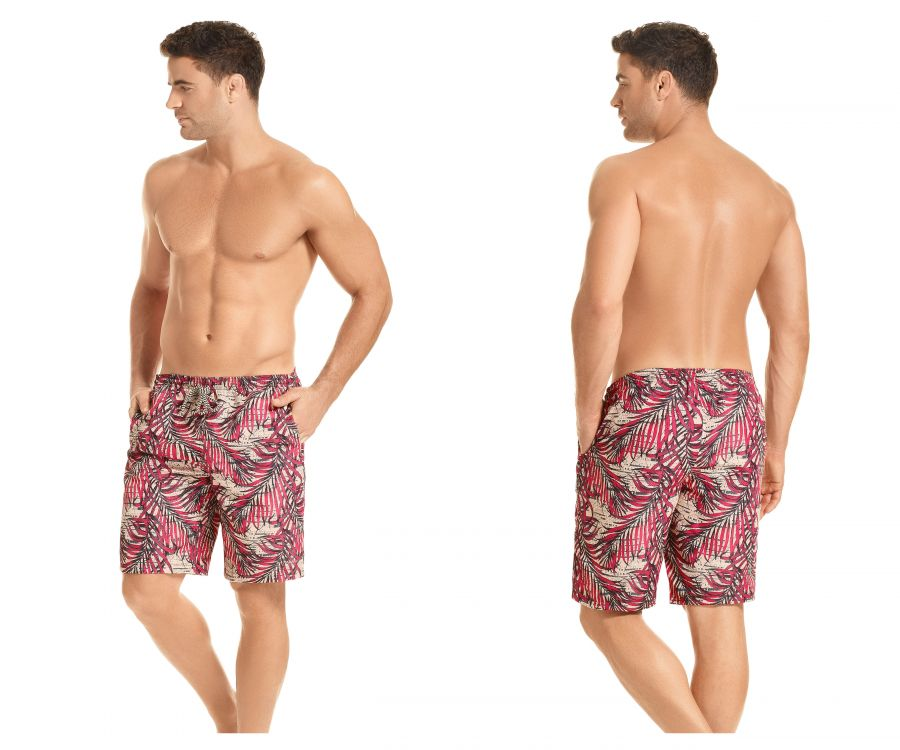 HAWAI 51904 Swim Trunks Color Coral