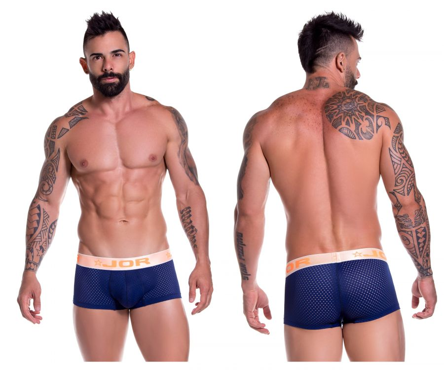 JOR 0705 Zeus Boxer Briefs Color Blue