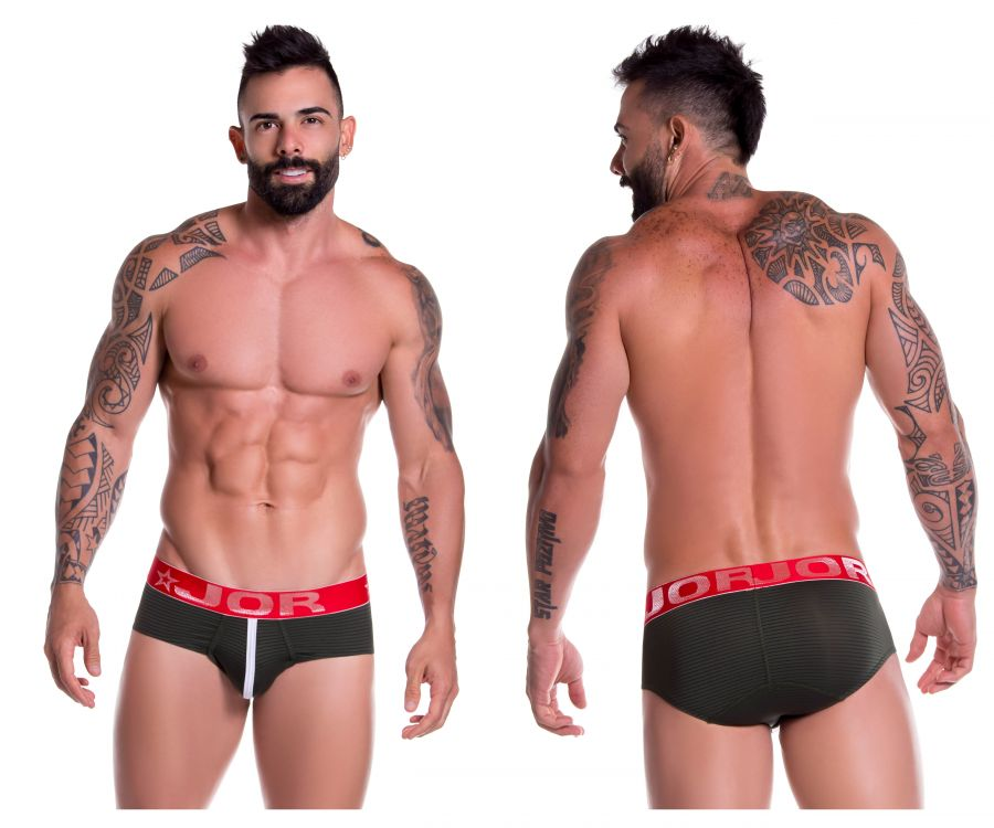 JOR 0714 Cooper Briefs Color Green