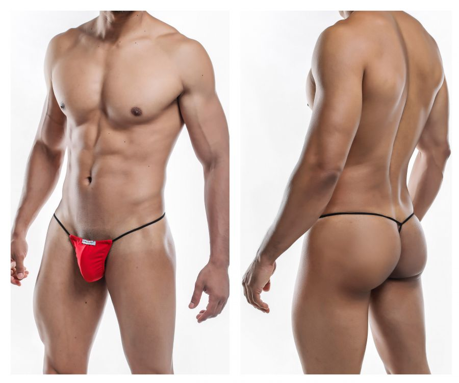 Joe Snyder JS02-Pol Polyester G-String Color Red-Poly