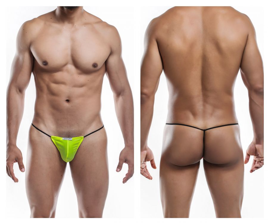 Joe Snyder JS02-Pol Polyester G-String Color Yellow-Poly