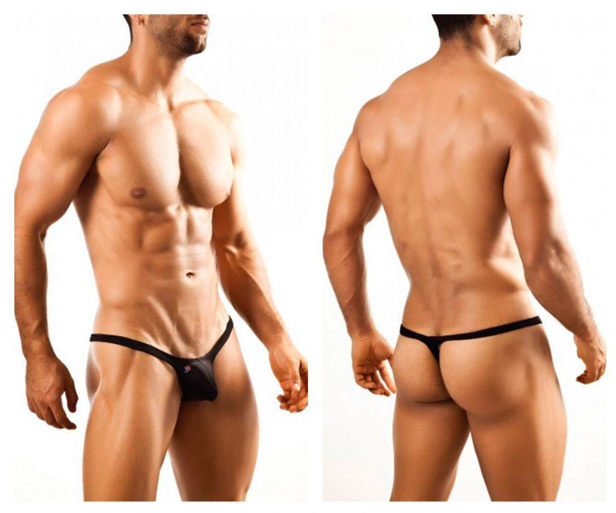 Joe Snyder JSBUL02 Bulge Tanga Color Black