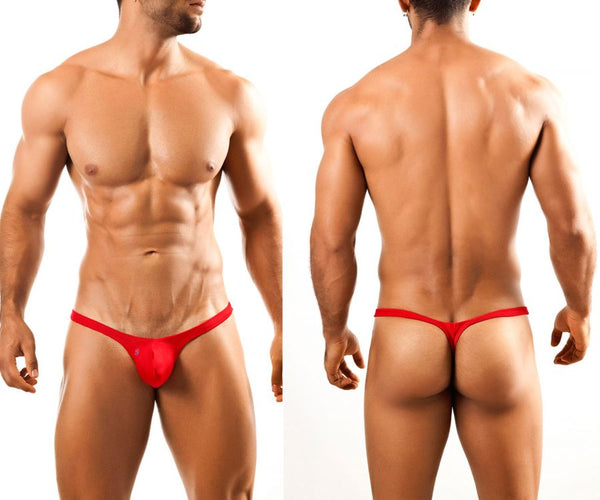 Joe Snyder JSBUL02 Bulge Tanga Color Red