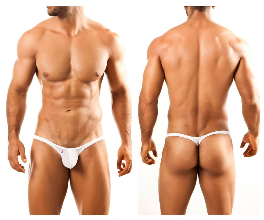 Joe Snyder JSBUL02 Bulge Tanga Color White Mesh