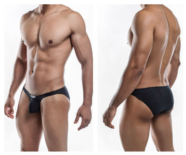 Joe Snyder JSBUL04-Pol Polyester Bulge Full Bikini Color Black-Poly