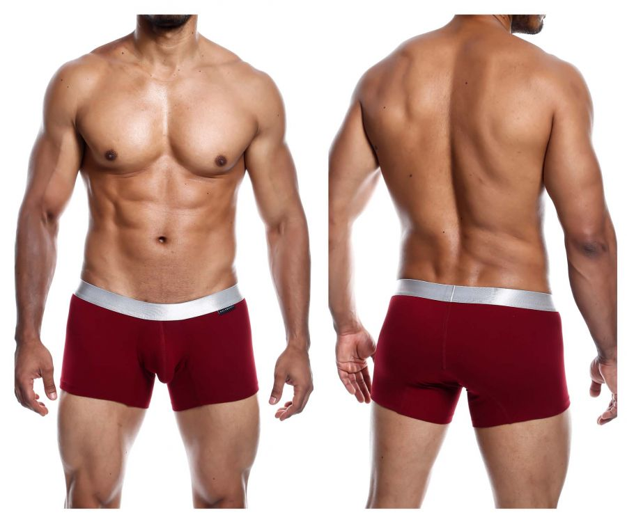 MaleBasics MB101 Classic Pima Trunks Color Wine