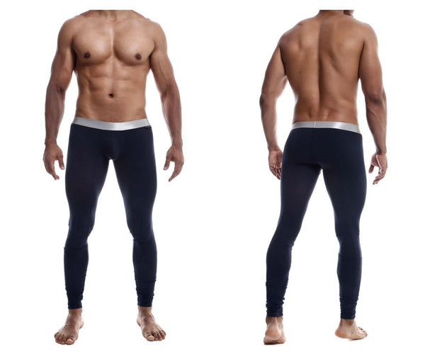 MaleBasics MB105 Classic Pima Long Johns Color Navy