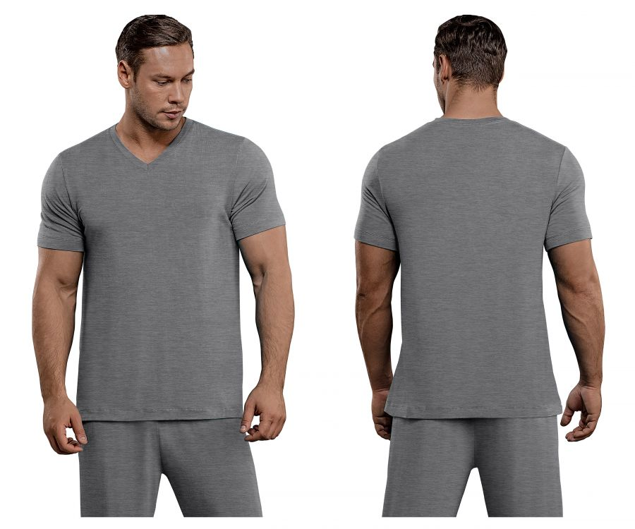 Male Power 102-253 Bamboo T-Shirt Color Gray