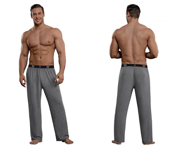 Male Power 188-253 Bamboo Lounge Pants Color Gray