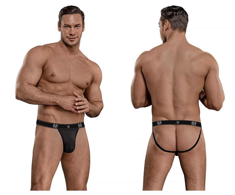 Male Power 349-253 Bamboo Sport Jock Color Black
