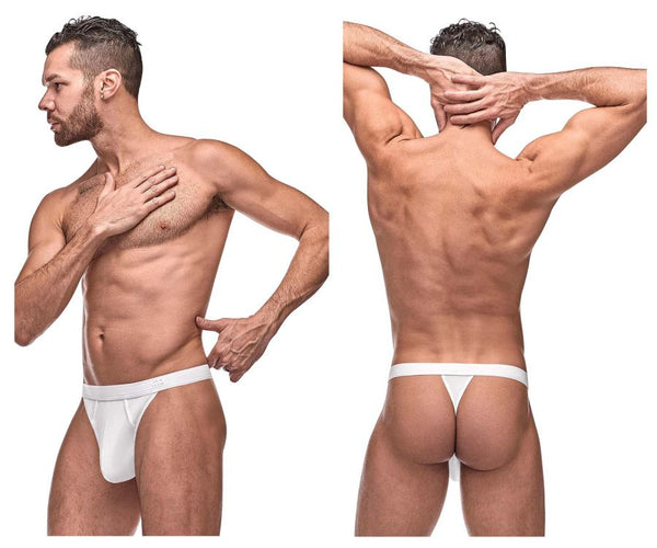 Male Power 436-257 Pure Comfort Bong Thong Color White