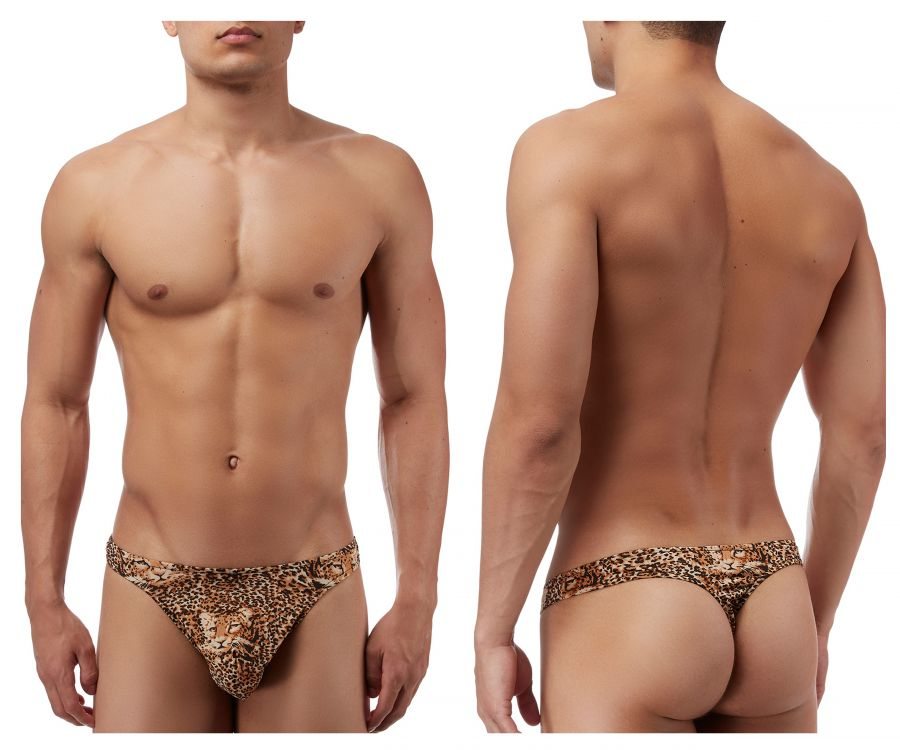 Male Power 444030 Animal Wonder Thong Color Brown