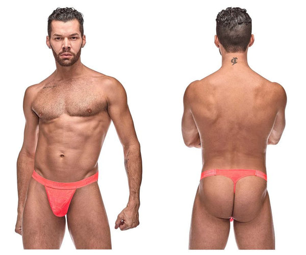 Male Power 454-263 Impressions Micro G-String V Color Coral