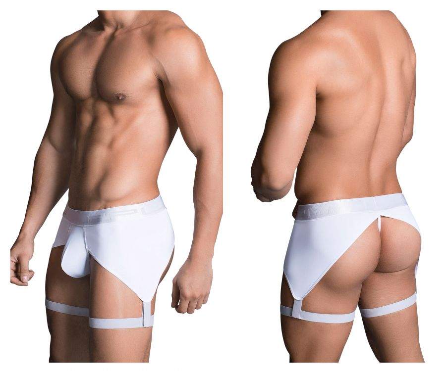PPU 1704 Boxer Briefs Color White