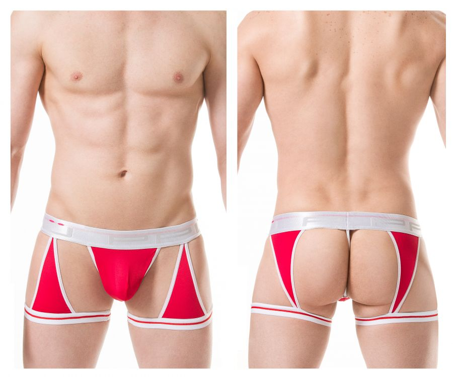 PPU 1806 Boxer Briefs Color Red