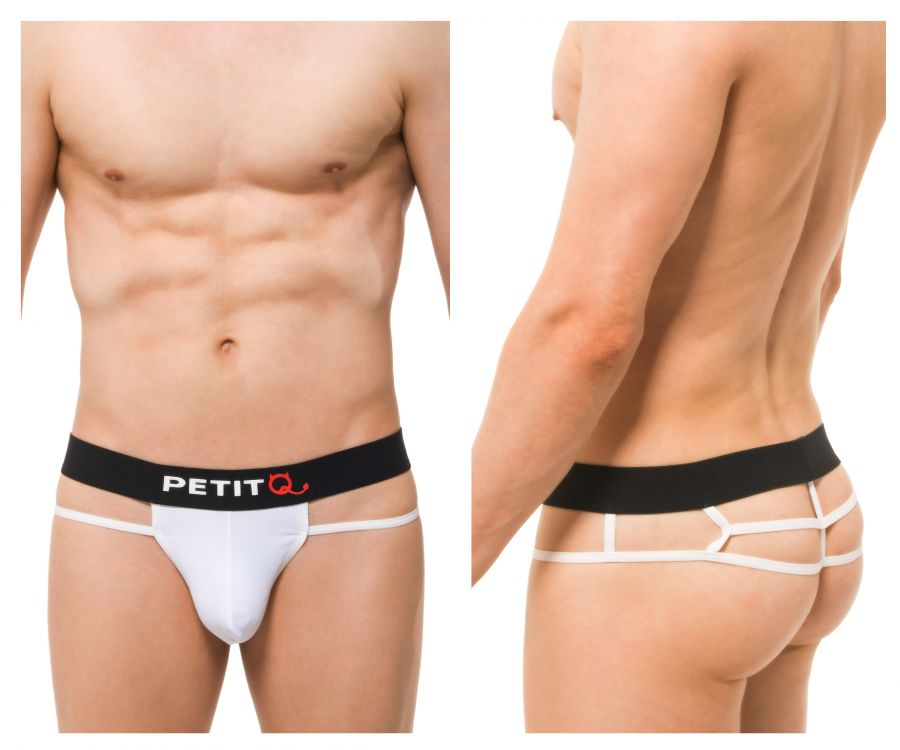 PetitQ PQ180901 Saulx G-String Color White
