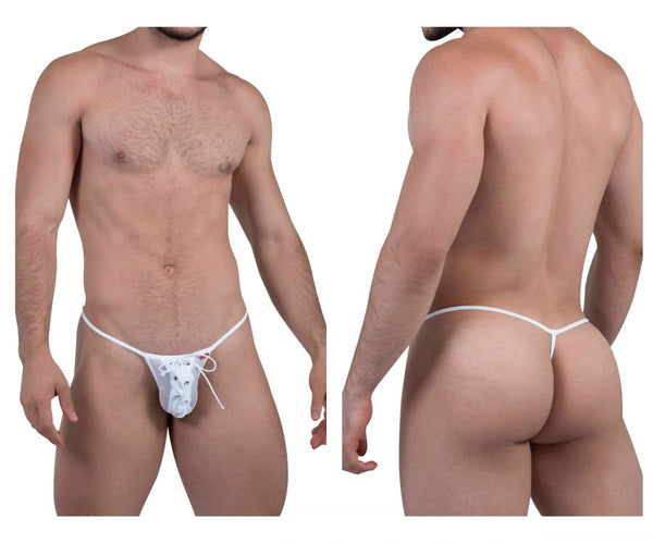 Pikante PIK 8060 Power Thongs Color White