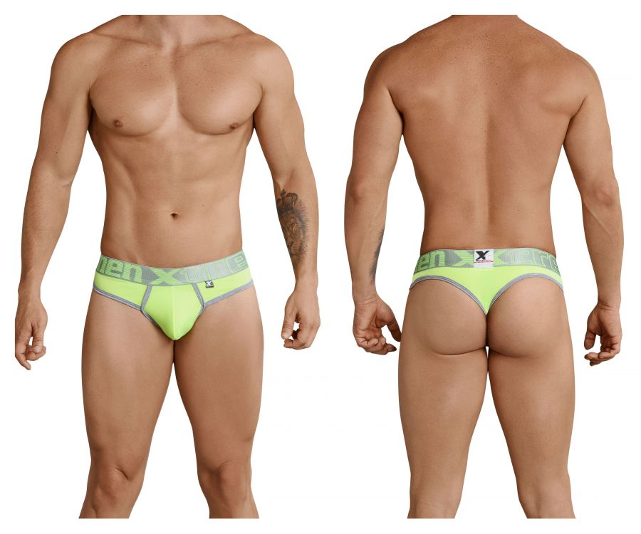 Xtremen 91031 Piping Thongs Color Green