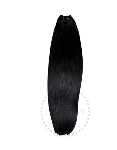 Straight Sew In Hair Extension Bundles 160g 22""
