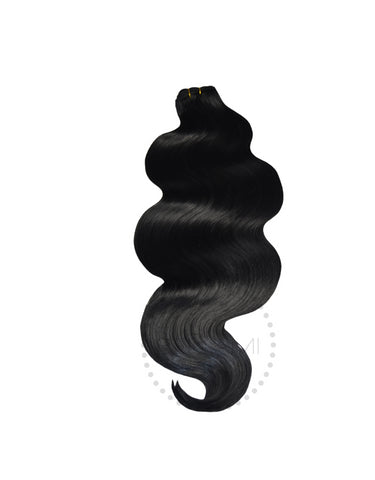 Body Wave Sew In Hair Extension Bundles 145g 20""