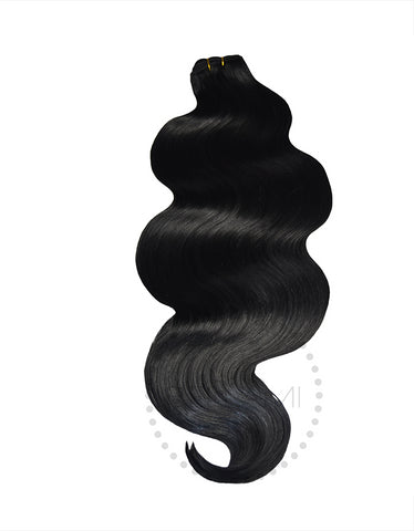 Body Wave Sew In Hair Extension Bundles 160g 22""