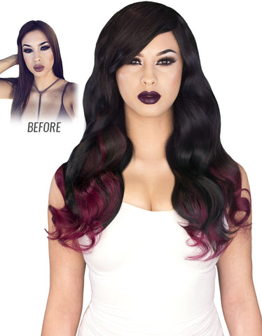 "BELLAMI Ombre 160g 20"" Clip In Hair Extensions"