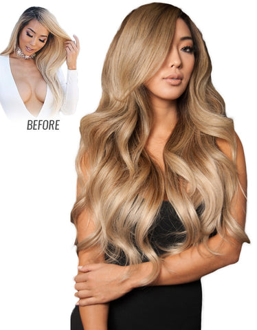 "Balayage by Guy Tang 220g 22"" Clip In Ombre Hair Extensions"