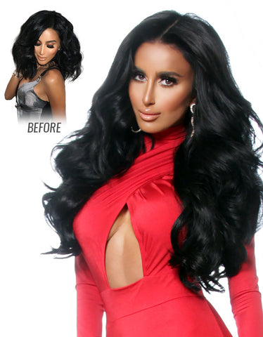 "Lilly Hair 260g 20"" Clip In Hair Extensions"