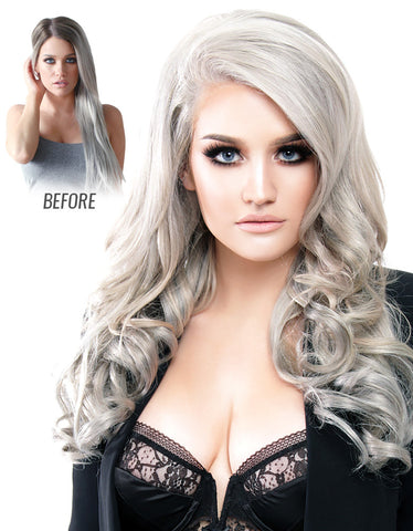 Sterling Silver Samantha Hair Extensions