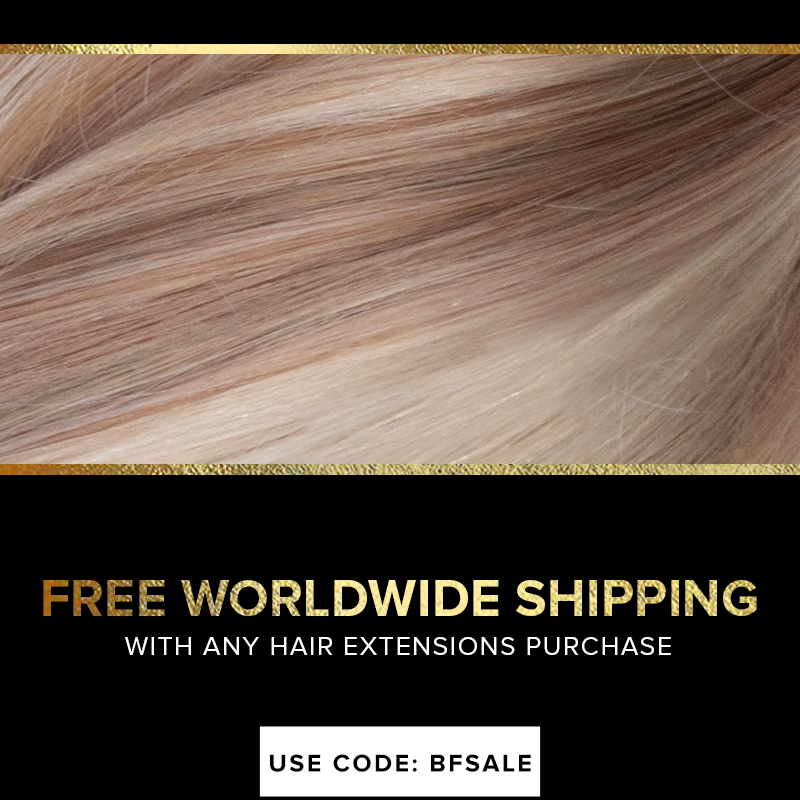 Free Shipping with Hair Extension Purchase
