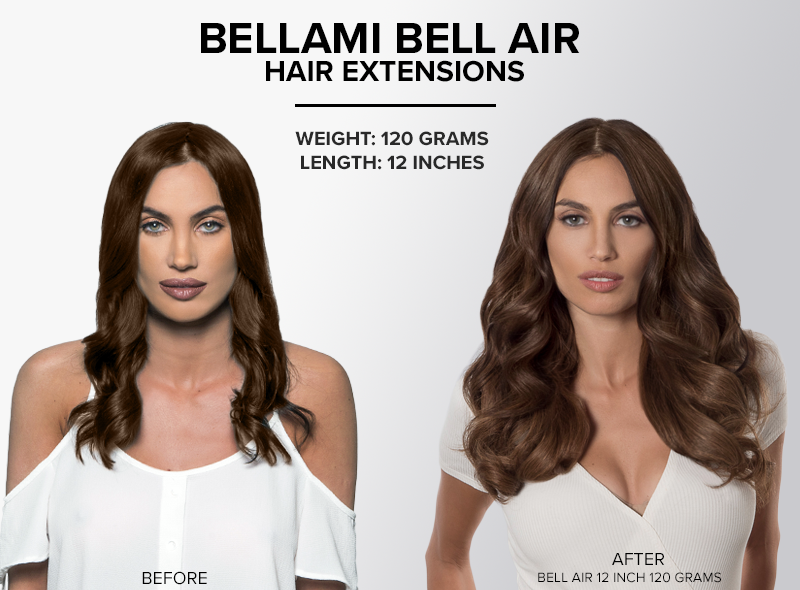 bellami bell air hair extensions 12 inch 120 grams