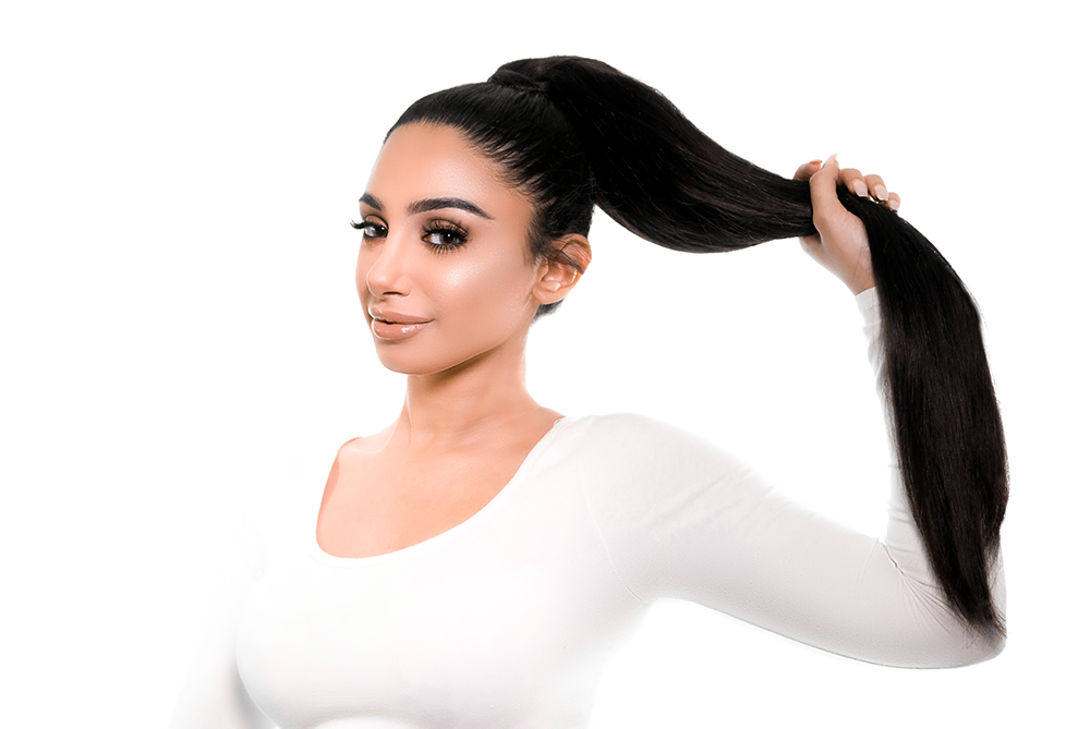 BELLAMI Ponytail how to use step 4