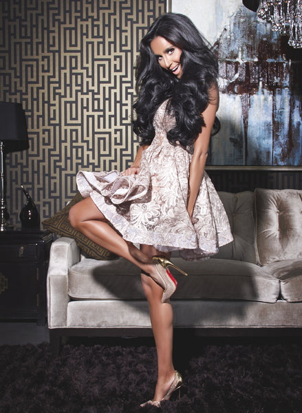 Lilly Ghalichi Hair by BELLAMI Hair